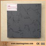 Belle plaque de pierre à quartz de surface solide en quartz blanc