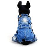Classic Dog Overalls Quality Pet Jeans Pantalons