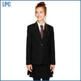 학교 고위 소녀는 적당한 형식 블레이저 코트를 체중을 줄인다
