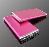 côté de sauvegarde externe portatif de pouvoir de chargeur de batterie de 6000-8000mAh USB pour le téléphone mobile