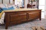 新しいデザイン純木の家具のアメリカの国様式の寝室セット(AD812)