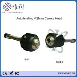 Appareil-photo visuel d'inspection de pipe de mini de 29mm d'individu égout de niveau avec l'enrouleur de câbles de fibre de verre de 20m à de 50m
