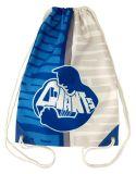 独自のロゴスポーツ巾着袋を持つ巾着袋