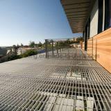 Сваренные и гальванизированные стальные Grating продукты для гражданского Outdoors
