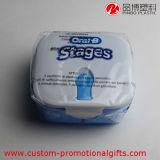 Meistgekaufte Form-netter Plastik scherzt Mittagessen-Kasten mit Löffel