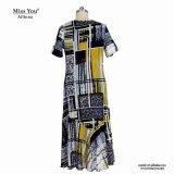 Distribuidor de la alineada del algodón de la impresión de las mujeres de Srta. You Ailinna 802065