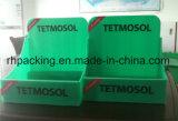 인쇄를 가진 녹색 PP 폴리프로필렌 수송용 포장 상자 또는 플라스틱 상점 내용 상자 3mm 4mm 5mm