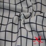 Ткань полиэфира шифоновая с платьем печатание цифров