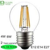 lampadina E27 di 6W G45 680lm LED