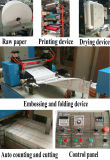 Full Automatic 1/4 Folding Color Printing Napkin Tissue Paper Making Machine