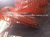 Rouleau de base orange de câble de sortie d'usine