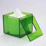 Rectángulo cuadrado del rectángulo de acrílico de encargo del tejido