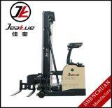 Forklift elétrico da maneira elétrica do Forklift 700kg-1t três do corredor do estreito do Forklift