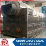 Caldaia a vapore infornata carbone orizzontale industriale del Doppio-Timpano dello SZL 10-1.0MPa