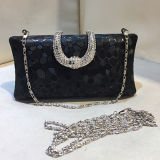 Clássico de cristal Beaded Evening Handbags Clutch Wedding Bag Senhoras bolsa Eb769