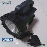 Nachladbarer 10W CREE LED Geepas Flashilights