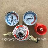 À usage moyen tout le régulateur oxygène-gaz de régulateurs en laiton de gaz