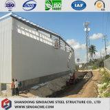 Entrepôt préfabriqué par longue vie de structure métallique/jeté/Worshop