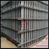 Estructura de la combinación del encofrado de la pared que utiliza que pela