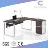 Muebles de lujo con el escritorio de oficina de madera de la cabina lateral