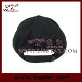 高品質のブランク平屋建家屋の軍の帽子の帽子の黒