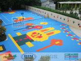 De de milieuvriendelijke Tegels van de Speelplaats van Jonge geitjes/Vloer van de Speelplaats/de Oppervlakte van de Speelplaats