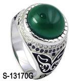 Juwelen 925 van de manier Zilveren Ring met Turkooise Steen