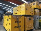 이동할 수 있는 트레일러 디젤 엔진 Genset Water-Cooled 휴대용 전력 발전기 세트