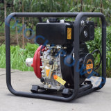 Máquina Diesel da bomba, bomba de água Diesel da irrigação agricultural portátil