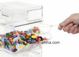 2017 대중적인 명확한 아크릴 사탕 상자