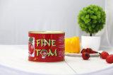 Canned pelées Pâte de tomate 400g