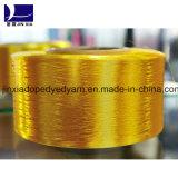 La droga de los hilados de polyester de FDY 300d/96f teñió