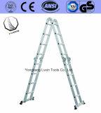 Superieure Kwaliteit die de Ladder van het Aluminium vouwen
