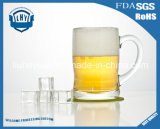 320ml vendent la cuvette en gros en verre de jus de cuvette de bière de grande capacité