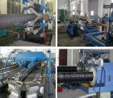 Riga ondulata doppia linea dell'espulsione del tubo del PVC del PE pp di produzione di 225-800 millimetro/espulsore di plastica