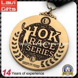 Alta calidad 10k personalizada Raza / Ejecutar deporte de medalla metal