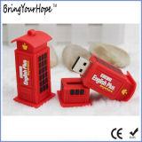 Movimentação do flash do USB do projeto da cabine de telefone (XH-USB-161)