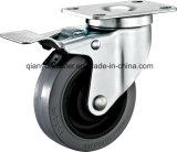 TPR Conductive Caster, Side Brake