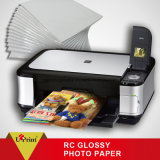glattes Foto-Papier-bestes aufbereitetes Papier des Tintenstrahl-220GSM