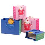 Le papier a personnalisé le luxe estampé par coutume de sacs de cadeau
