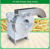 FC-502 Machine de découpe commerciale aux frites, pomme de terre, batteuse à concombre