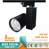 20-50W 높은 루멘 옥수수 속 LED 반점 Light/LED 궤도 Spotlight/LED 궤도 전등 설비