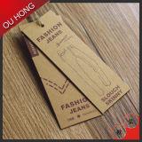 Neue Ankunfts-kundenspezifische Packpapier-Fall-Marke für Frauen-Jeans