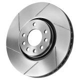 Disques Grooved encochés de frein pour le marché des accessoires automobile