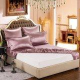 Taihuの雪の絹の優雅シリーズOeko-Tex 100の標準絹の継ぎ目が無い寝具19mommeの実質の贅沢なピンクの純粋なクワ絹シートセット
