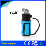 Lecteur flash USB de type de sac de golf d'OEM Manufacter Garunk de la Chine