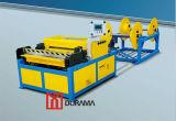 Línea auto del conducto del fabricante del conducto, cortadora del plasma