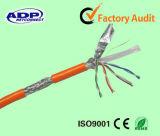 Connettore di rame RJ45 cavo di ponticello del cavo di zona della rete del ftp o di UTP di ADP Cat5e CAT6
