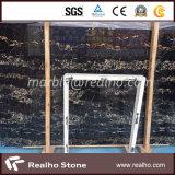 Wall Floor Tile를 위한 이탈리아 Black Portoro Marble