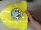 Casque dur industriel de sûreté d'extraction de bonne qualité avec l'éclairage LED